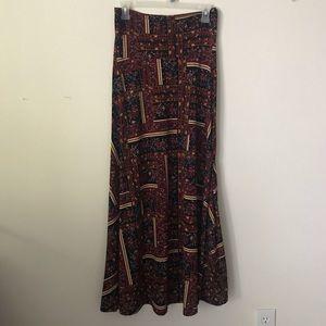 Lularoe Maxi Skirt Size XS